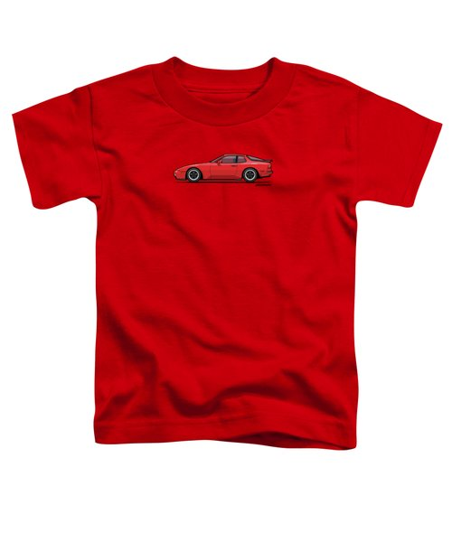 India Red 1986 P 944 951 Turbo Toddler T-Shirt by Monkey Crisis On Mars