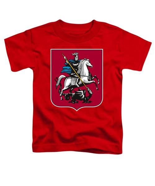 Moscow Coat Of Arms Toddler T-Shirt by Frederick Holiday