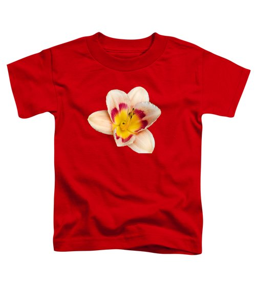 Orange Yellow Lilies Toddler T-Shirt by Christina Rollo