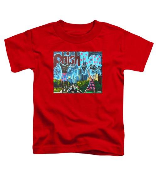 Phishmann Toddler T-Shirt by Kevin J Cooper Artwork