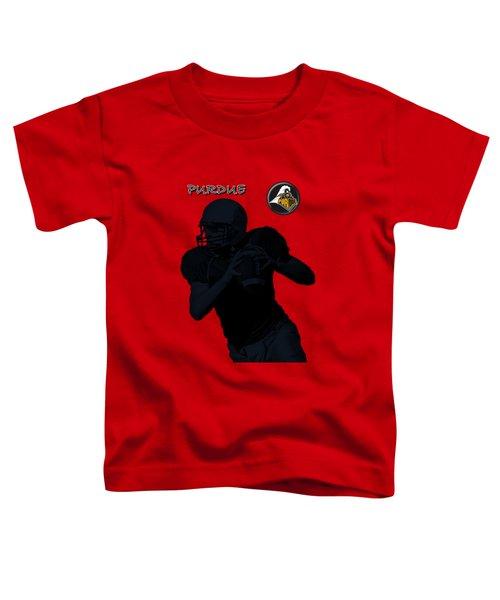 Purdue Football Toddler T-Shirt by David Dehner
