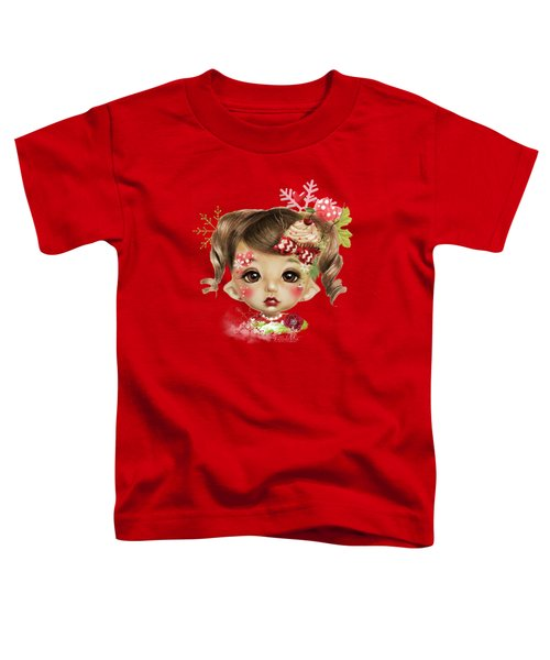 Sabrina - Elf  Toddler T-Shirt by Sheena Pike