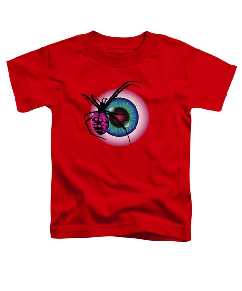 The Eye Of Fear Toddler T-Shirt by MM Anderson