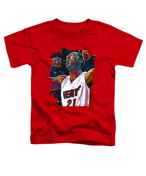 The Whiteside Flex Toddler T-Shirt by Maria Arango