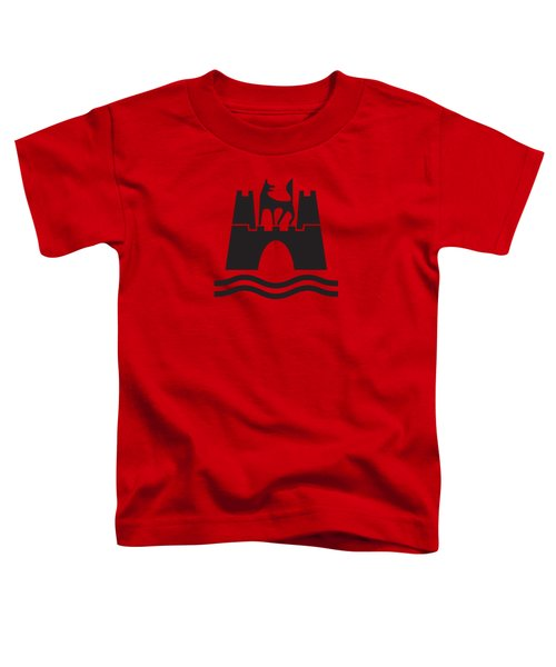 Wolfburg Logo Toddler T-Shirt by Ed Jackson