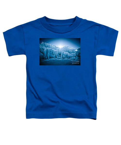 Ice Castle Toddler T-Shirt by Edward Fielding