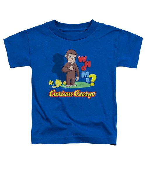 Curious George - Who Me Toddler T-Shirt by Brand A