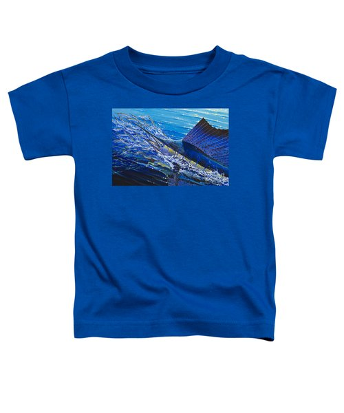 Sail On The Reef Off0082 Toddler T-Shirt by Carey Chen