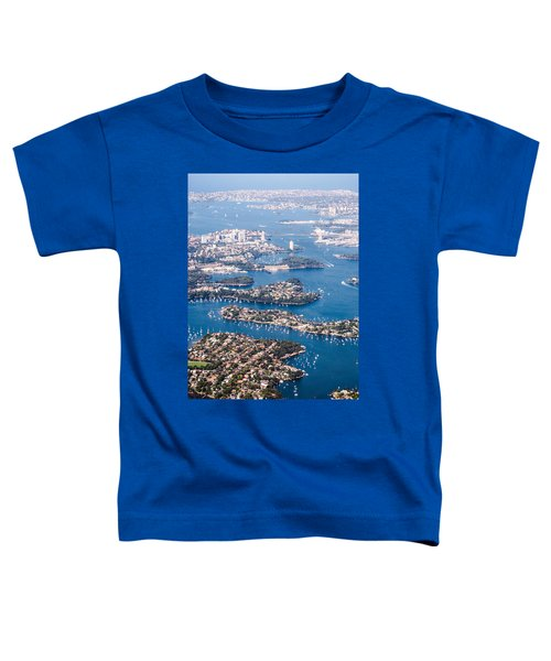 Sydney Vibes Toddler T-Shirt by Parker Cunningham