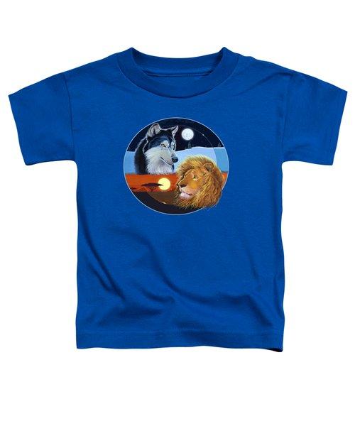 Celestial Kings Circular Toddler T-Shirt by J L Meadows