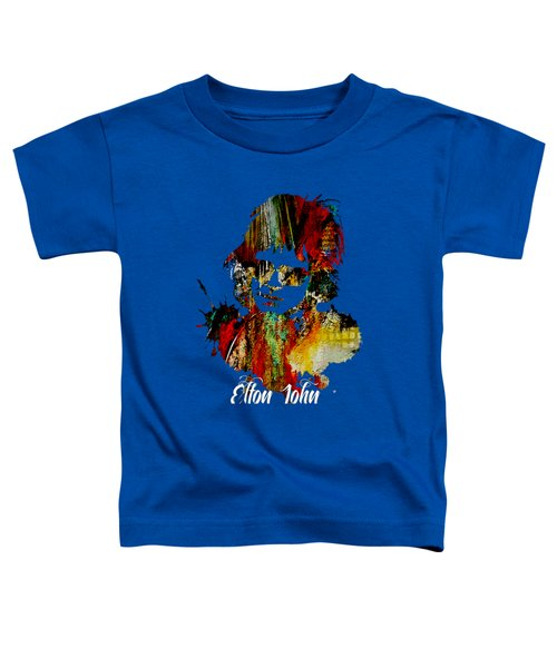 Elton John Collection Toddler T-Shirt by Marvin Blaine