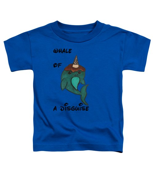 a Whale of a disguise Toddler T-Shirt by Darci Smith