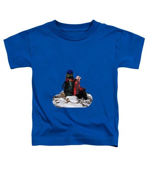 Himalayan Porter, Nepal Toddler T-Shirt by Aidan Moran