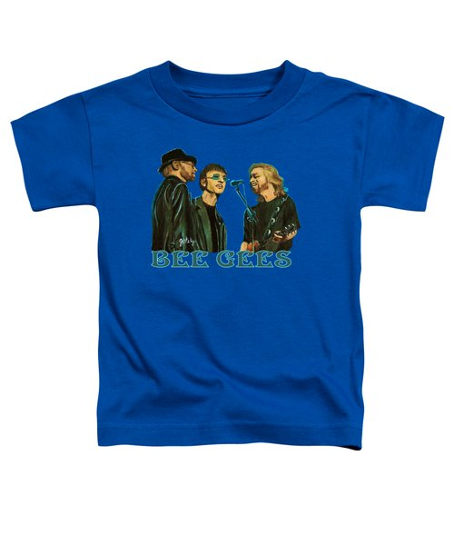 Bee Gees Toddler T-Shirt by Paintings by Gretzky