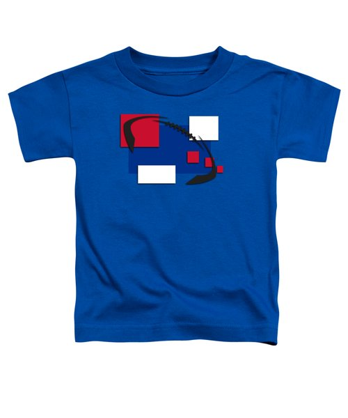 Bills Abstract Shirt Toddler T-Shirt by Joe Hamilton