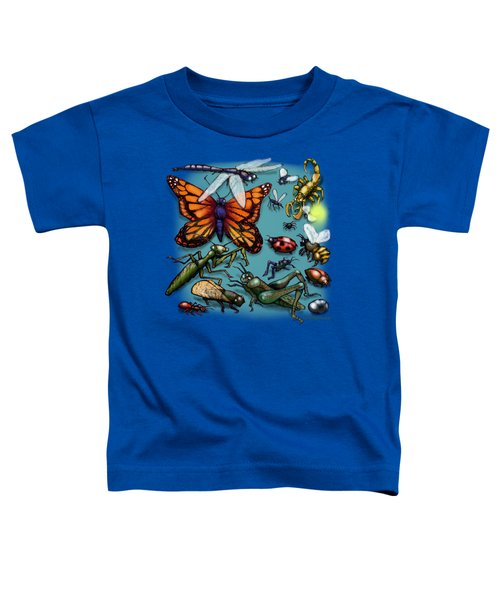 Bugs Toddler T-Shirt by Kevin Middleton