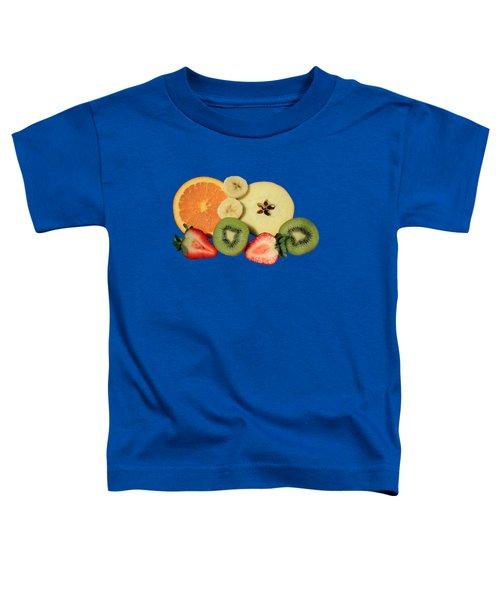 Cut Fruit Toddler T-Shirt by Shane Bechler