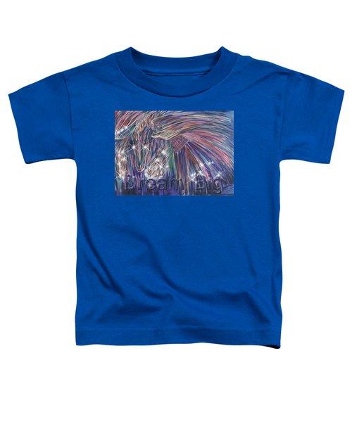 Dream Big Toddler T-Shirt by Thomas Lupari