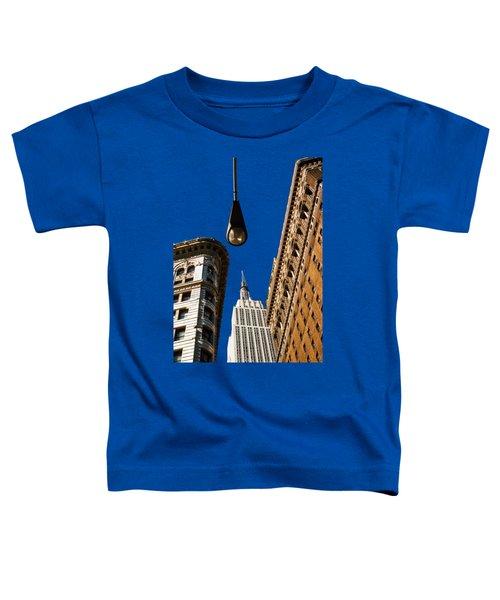 Flatiron District Toddler T-Shirt by Paul Lamonica