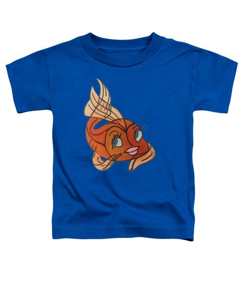 Goldie Toddler T-Shirt by Darci Smith