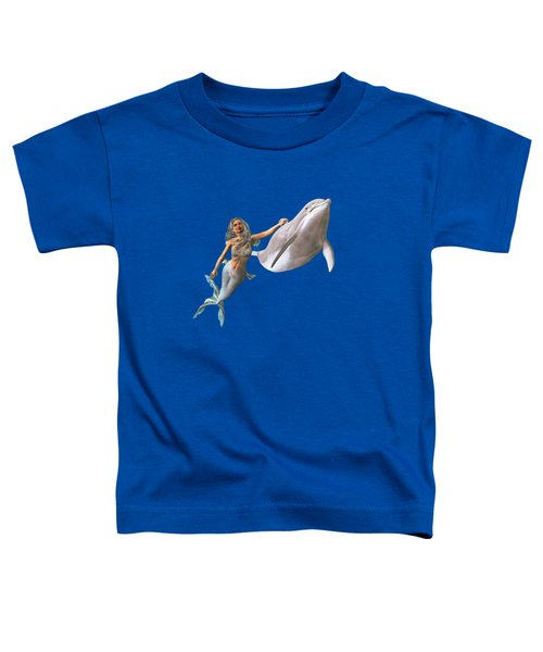 Hitching A Ride Toddler T-Shirt by Methune Hively