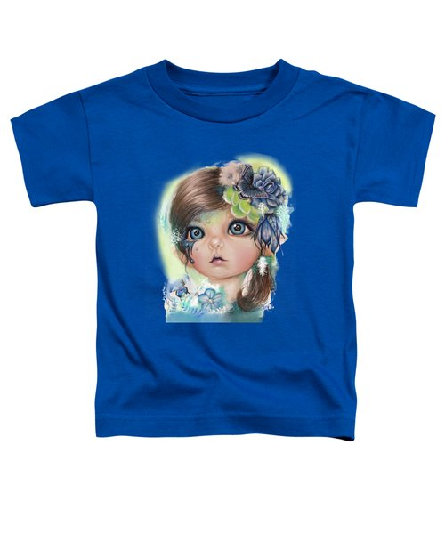 Indigo - Butterfly Keeper - Munchkinz By Sheena Pike  Toddler T-Shirt by Sheena Pike