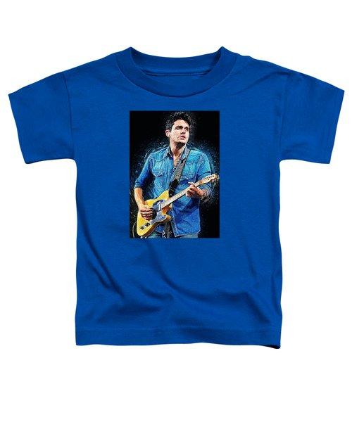 John Mayer Toddler T-Shirt by Taylan Soyturk
