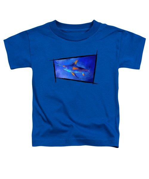 Kauderon V1 - Beautiful Swordfish Toddler T-Shirt by Cersatti