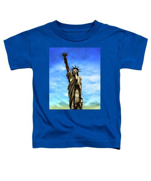 Liberty 2016 Toddler T-Shirt by Kd Neeley