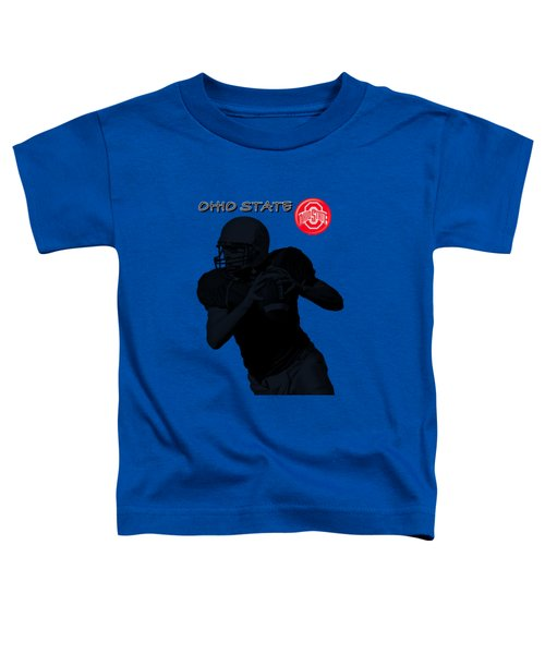 Ohio State Football Toddler T-Shirt by David Dehner