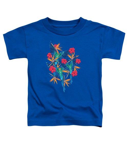 Parrots Toddler T-Shirt by Marta Balcerzak