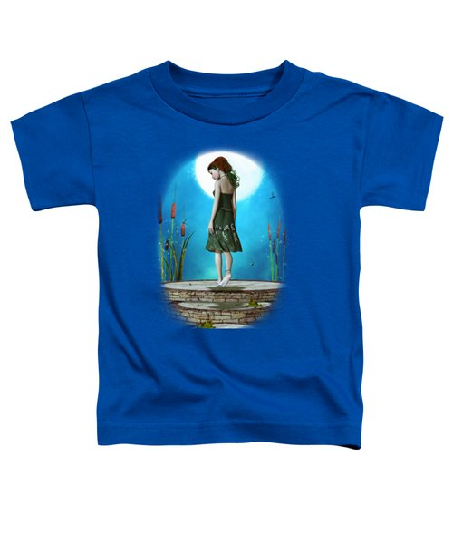 Pond Of Dreams Toddler T-Shirt by Brandy Thomas