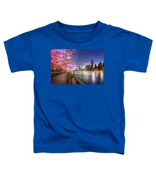 Romantic Blooms Toddler T-Shirt by Az Jackson