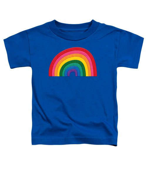 Somewhere Over The Rainbow Toddler T-Shirt by Marisa Lerin