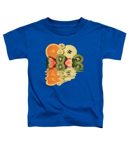 Split Reflections Toddler T-Shirt by Shane Bechler