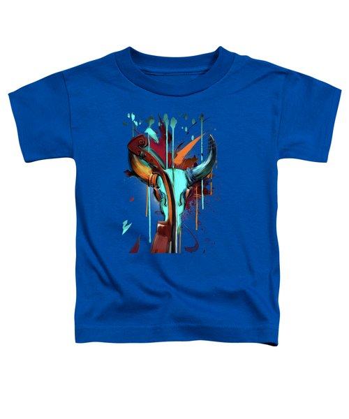Taurus Toddler T-Shirt by Melanie D