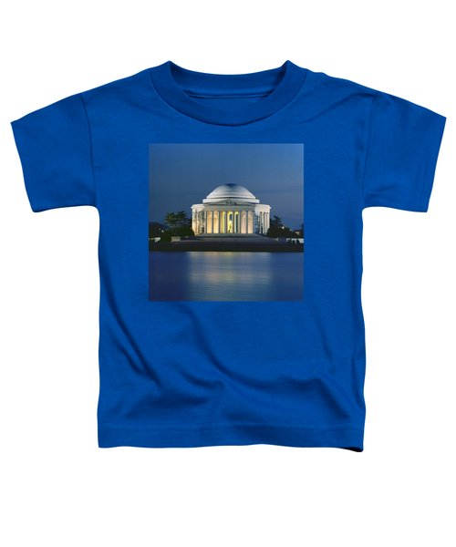 The Jefferson Memorial Toddler T-Shirt by Peter Newark American Pictures