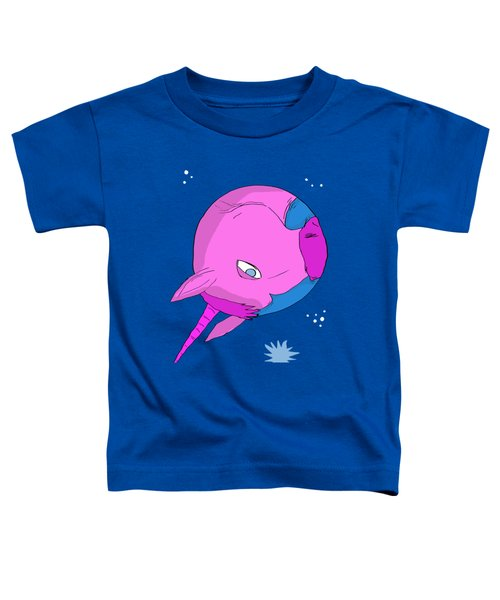 Unicorn Planet Toddler T-Shirt by Brian Cattapan