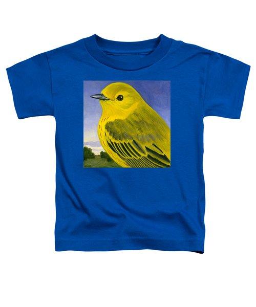 Yellow Warbler Toddler T-Shirt by Francois Girard