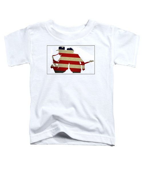 The Big Man And The Boss Toddler T-Shirt by Bill Cannon
