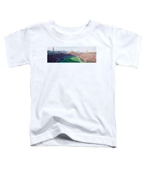 High Angle View Of Spectators Toddler T-Shirt by Panoramic Images