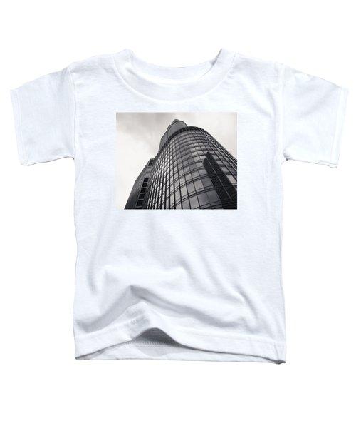 Trump Tower Chicago Toddler T-Shirt by Adam Romanowicz
