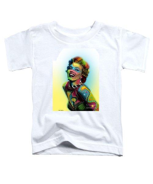 Marilyn Monroe Toddler T-Shirt by Mark Ashkenazi