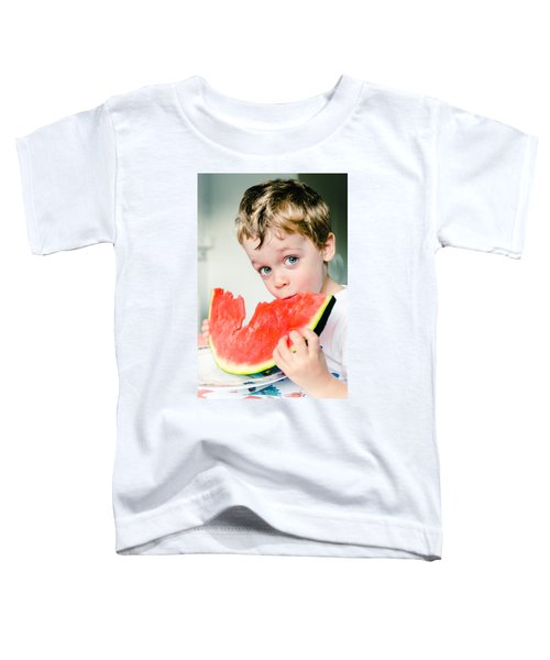 A Slice Of Life Toddler T-Shirt by Marco Oliveira