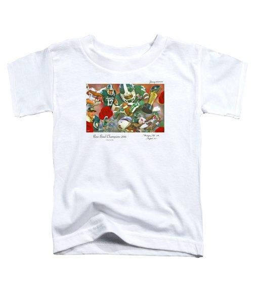 A Very Sweet Rose Toddler T-Shirt by John Farr