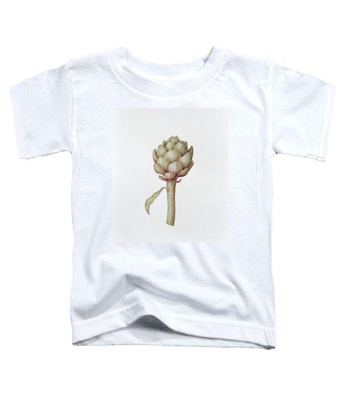 Artichoke Toddler T-Shirt by Diana Everett
