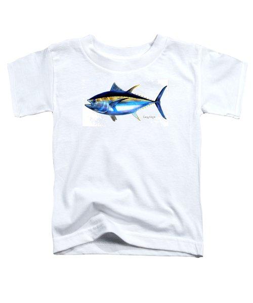 Big Eye Tuna Toddler T-Shirt by Carey Chen
