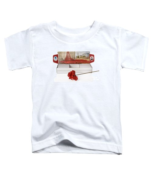 Blood Swept Lands And Seas Of Red Toddler T-Shirt by Amanda Elwell