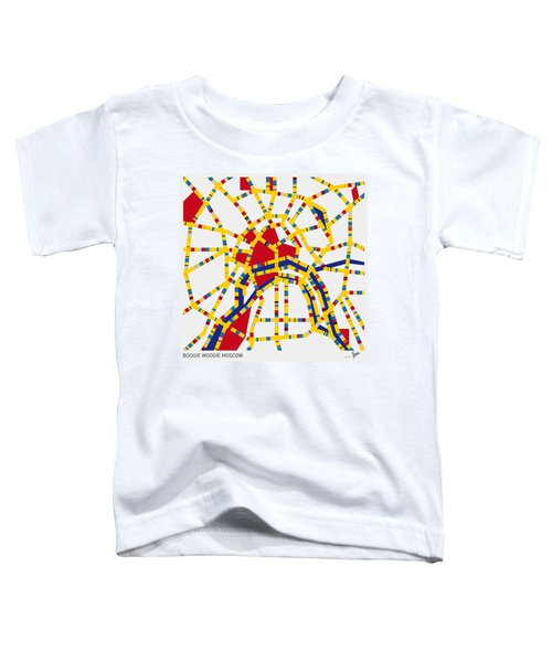 Boogie Woogie Moscow Toddler T-Shirt by Chungkong Art