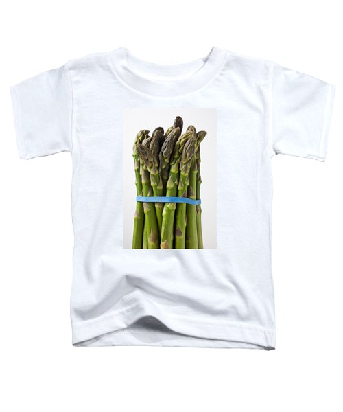 Bunch Of Asparagus  Toddler T-Shirt by Garry Gay